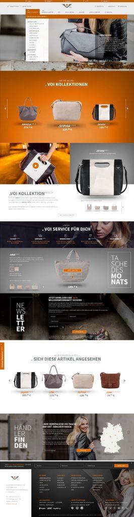 Shopware 5 E-Commerce Projekt Design